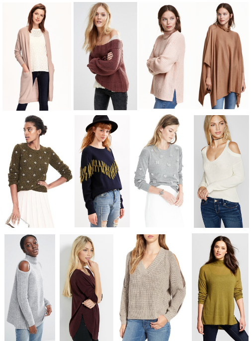 Sweater Round Up