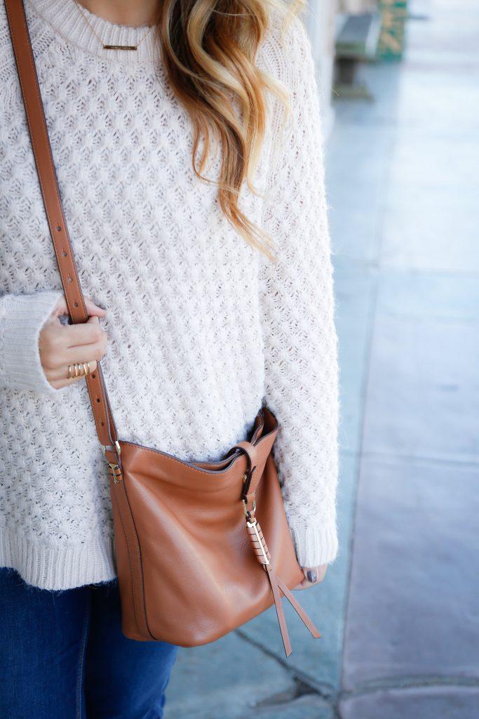Oversized sweater Fall Style Sunday Bag