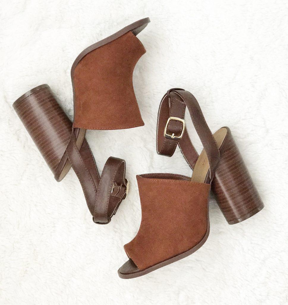Spring Block Heels