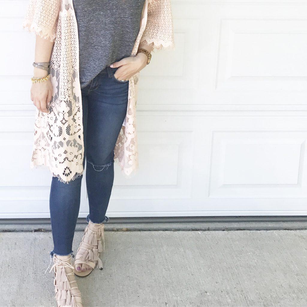 Forever 21 Tassel Sandals Spring Style