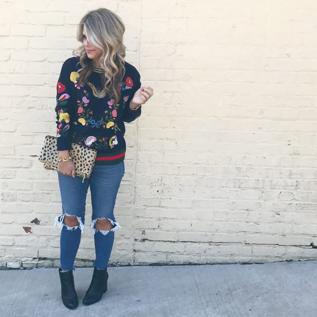 Embellished Sweater, Fall Style