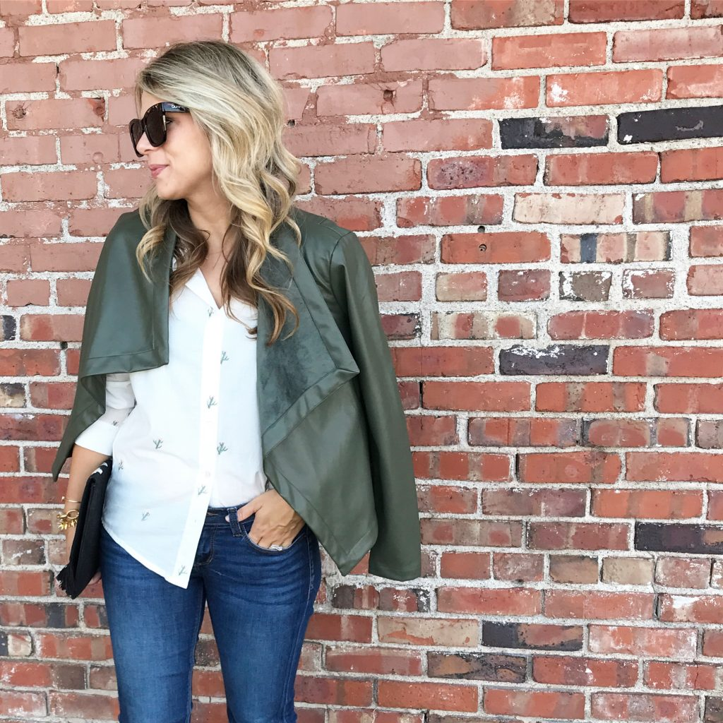 Styling An Embroidered Blouse, BB Dakota, Fall Style, Cactus