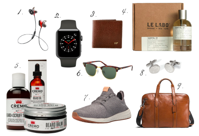 Valentines Day Gift Guide for Him, Gifts for Him, Coach, New Balance, Apple Watch, Santal 33, Beats, Mark and Graham, Personalized Gifts