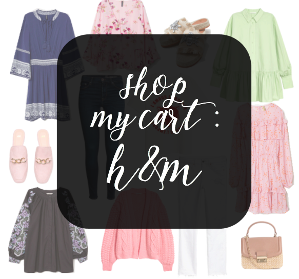 Shop My Cart, H&M, HM, Spring, Spring Style