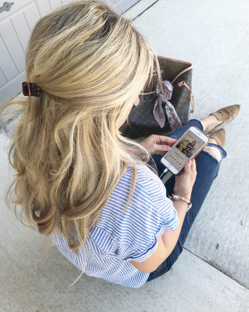Audio Books, Spring Style, Louis Vuitton Neverfull