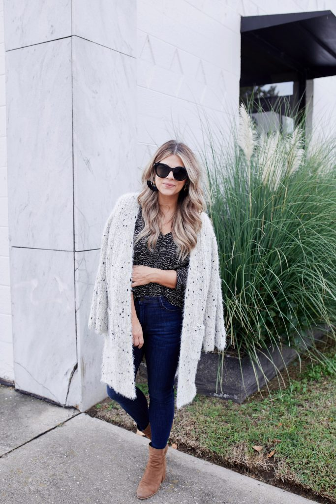 Cozy Metallic Cardigan, Fall Style, Fall Fashion, Stella & Dot