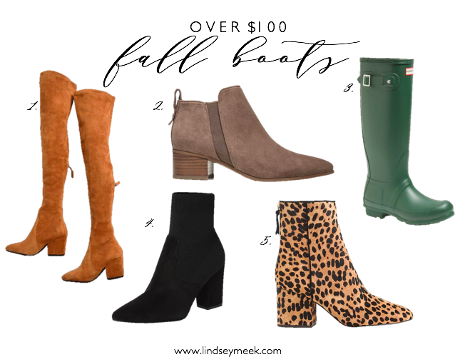 5 Boots You Need For Fall, Boots, Bootie, OTK Boots, Fall Style, Fall Fashion, Amazon Fashion, Le Specs