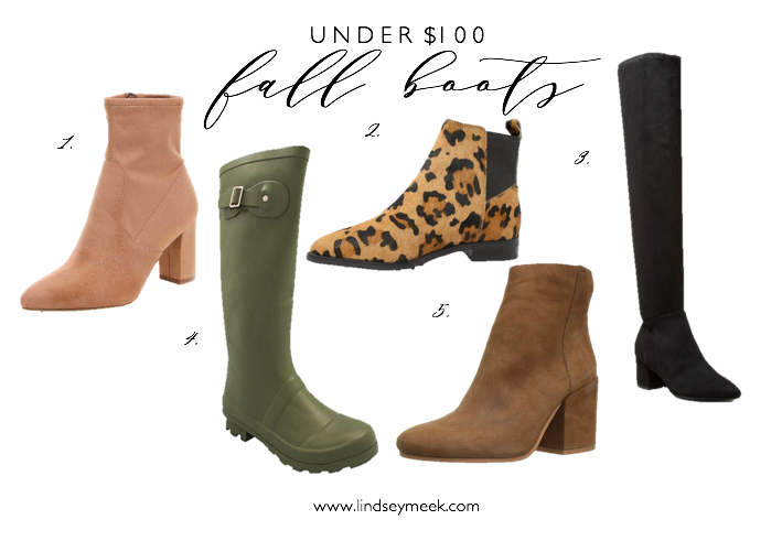 5 Boots You Need For Fall, Boots, Bootie, OTK Boots, Fall Style, Fall Fashion, Amazon Fashion,