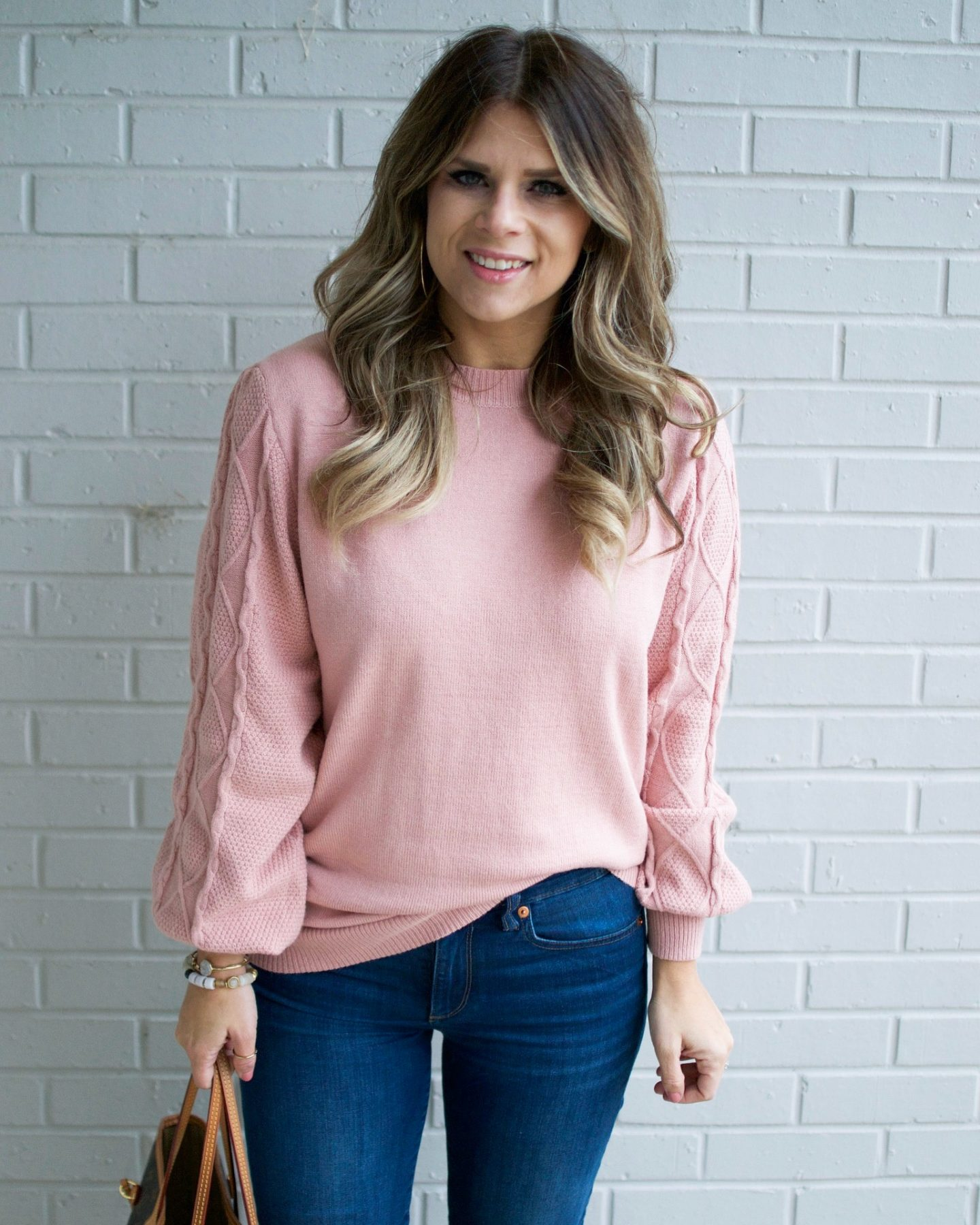 Pink Sweater, Winter Style