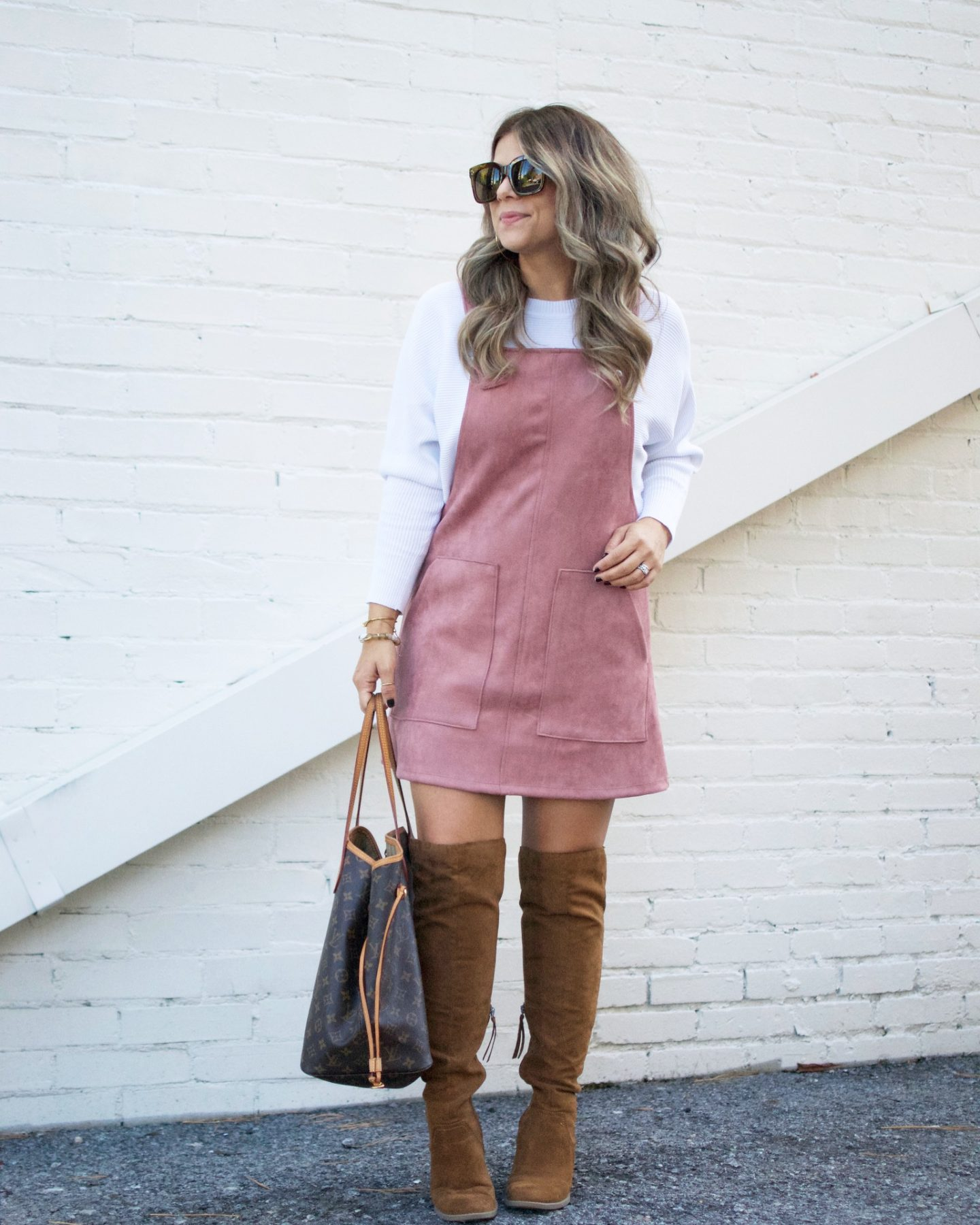 Pink Suede Jumper, Over The Knee Boots, Black Friday Sales
