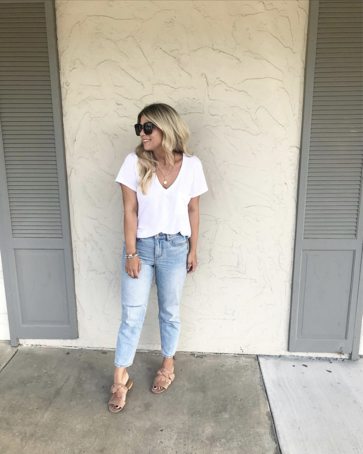Casual Style, Amazon Find, Sam Edelman, Sam Edelman Sandal, Mules, Slides, Summer Sandals, Stella & Dot, https://amzn.to/2F8jcYC