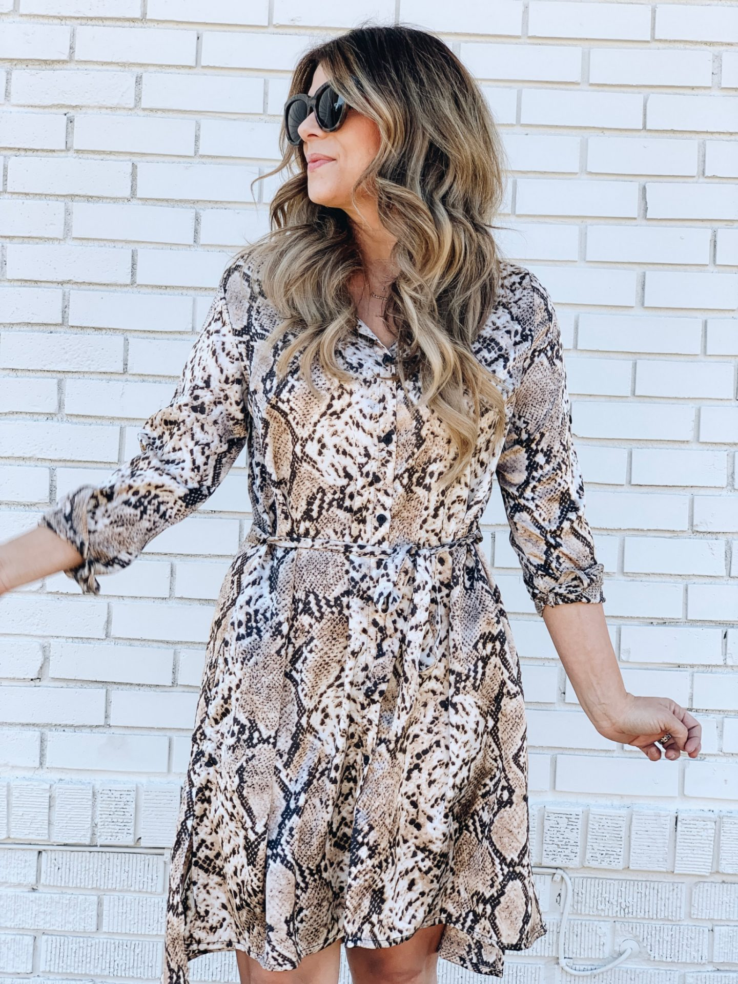 How to style a snakeskin dress, snakeskin, snake skin, nude heels, www.lindseymeek.com, https://www.beauandarrowusa.com/collections/shoplindsey/products/the-valerie-dress
