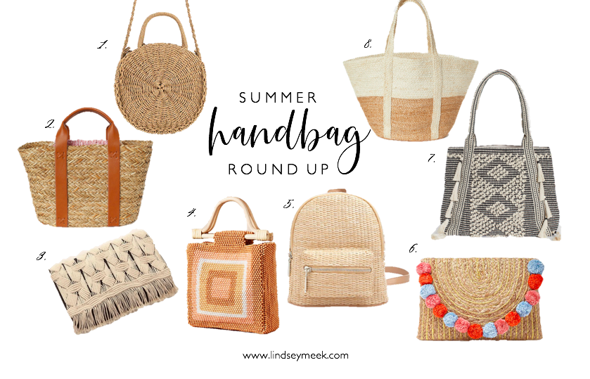 Summer handbag round up, Summer bags, Straw bags