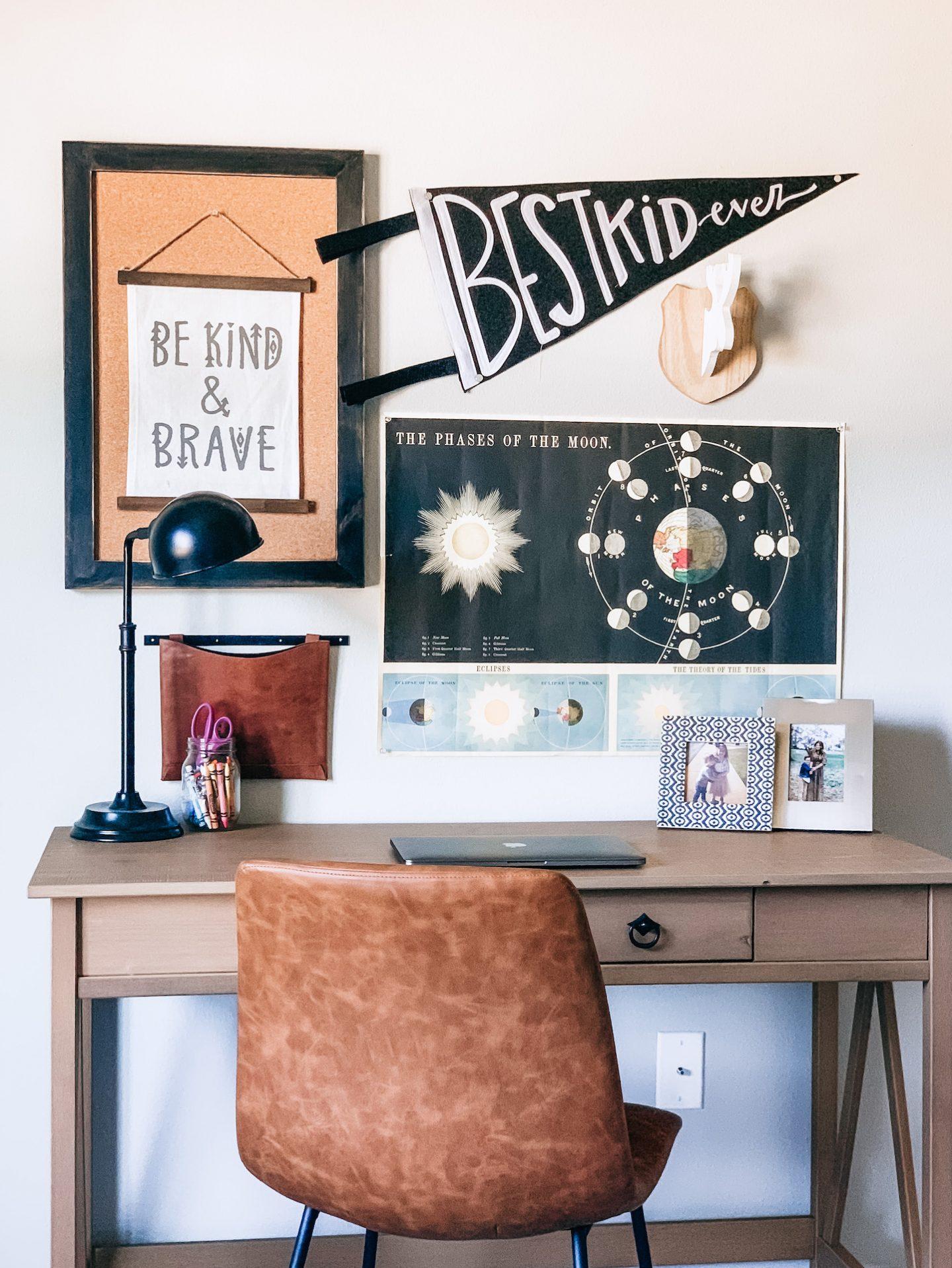Big Boy room, Tween Boy Room, Daybed, Long Live Boy Hood, Mature Boy Room, DIY, Large Scale Print DIY, Kid Room, Kid Desk